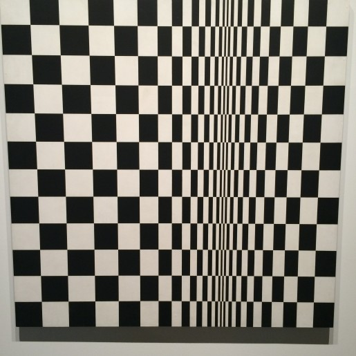 Bridget Riley: Movement in Squares, 1961