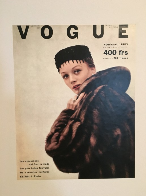En kunstner på forsiden af Vogue. Hvornår er det sidst sket?