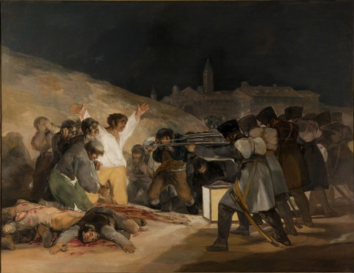 Francisco Goya: Tres de Mayo 1808 (1814)