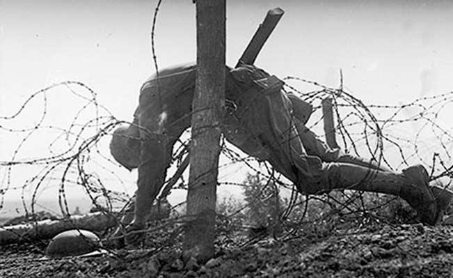 Første verdenskrig og menneskerettigheder