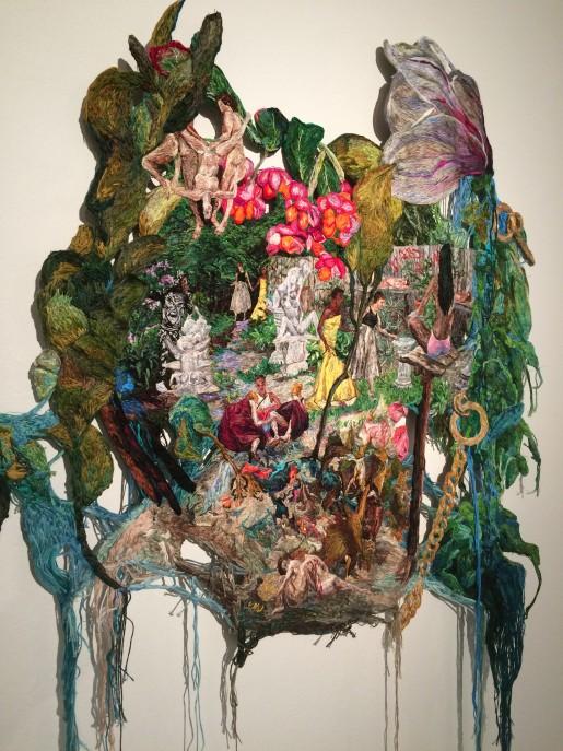 Værk af Sophia Narrett, Extract, Kunstforeningen Gl. Strand