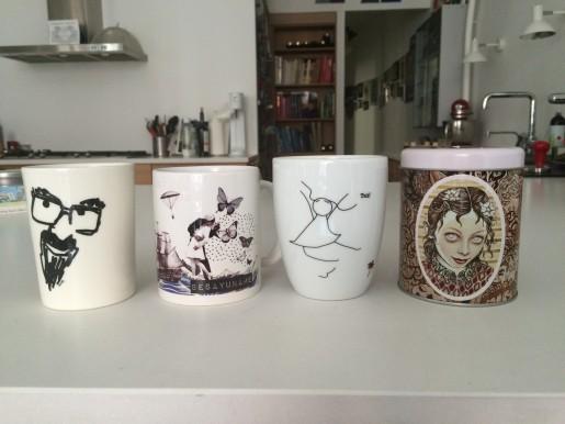 Fire eksempler på 'kunst i dagligdagen', der beriger min hverdag.