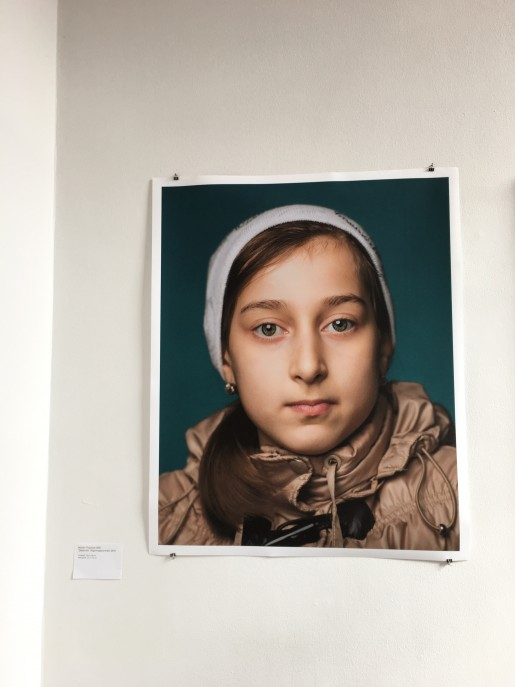 Martin Thaulow, 2014. Tjetjenien, flygtningeportræt.
