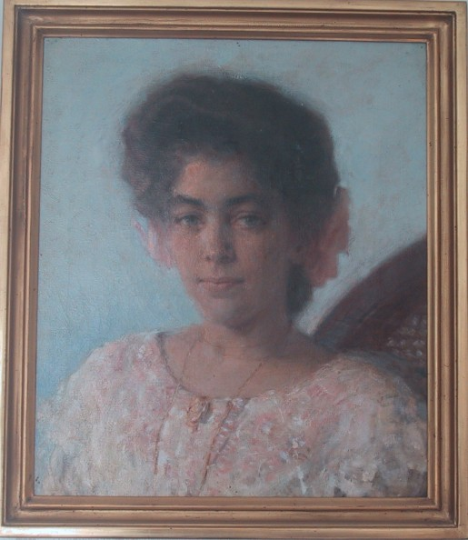 Hugo Larsen: Alice La Beet, 1905. Et arvestykke, Alice var min farmor.