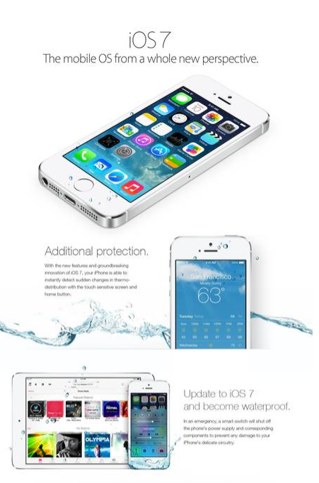 IOS7waterproof