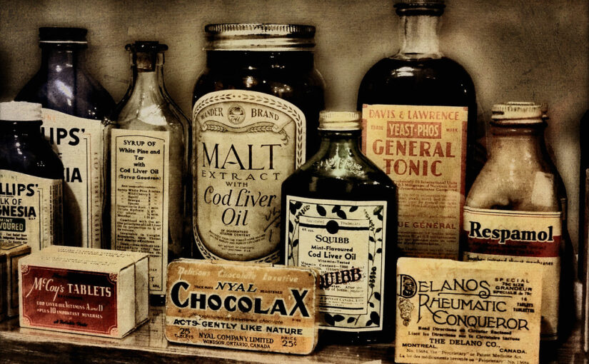 (For) gammel medicin?